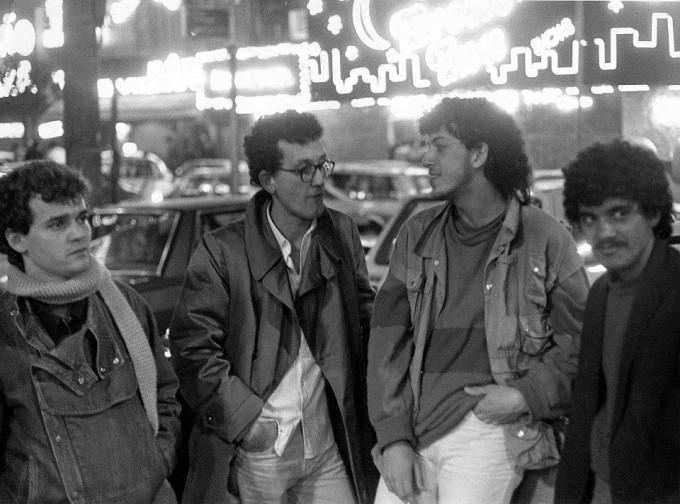Última formação da década de 80