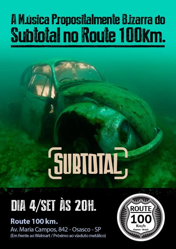 Subtotal no Route 100